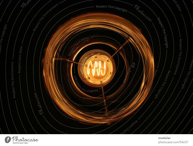 Glühdraht Lampe Kreis Draht