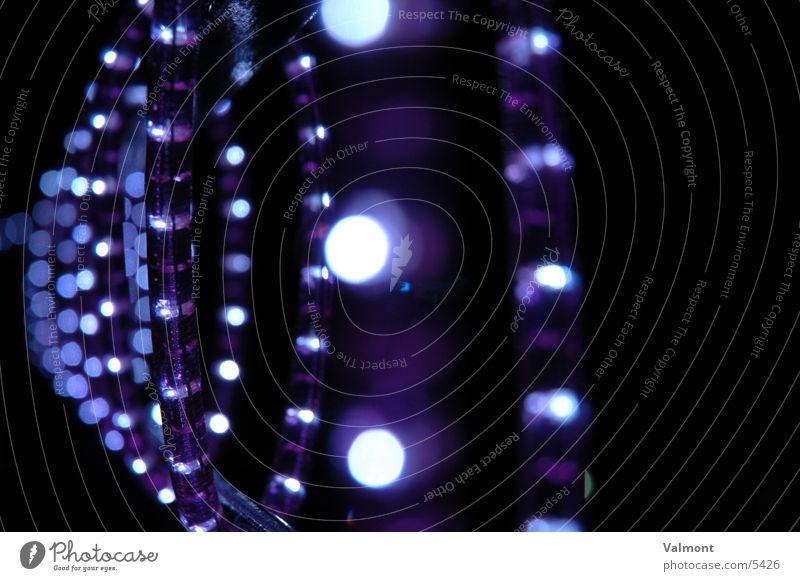 blauer wirbel Licht Lichterkette Lichtschlauch Fototechnik Beleuchtung