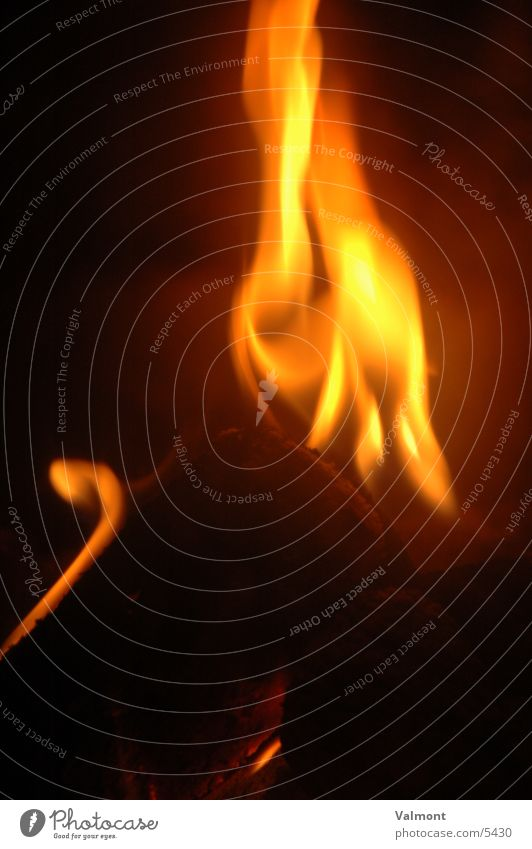 flamme I Brand brennen Flamme Kamin Fototechnik