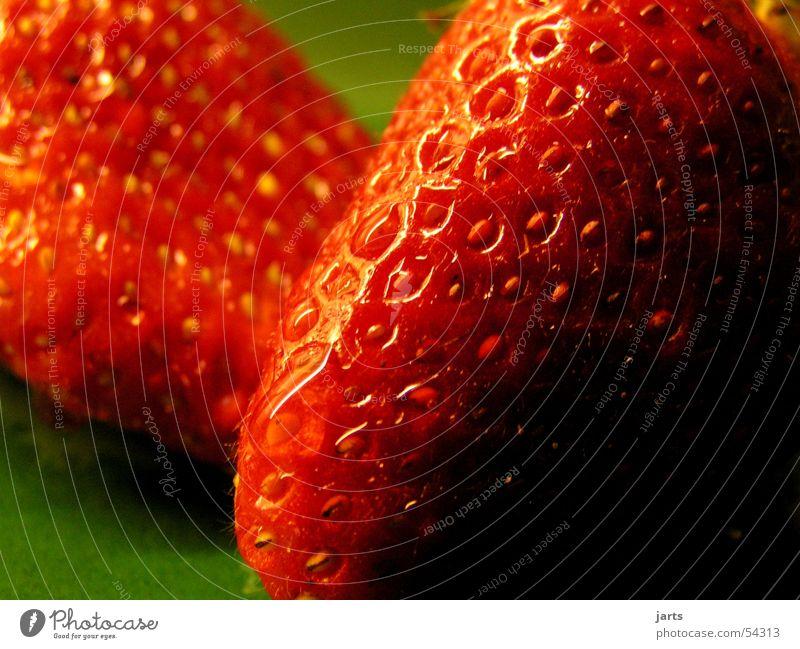 Erdbeere rot Frucht süß lecker feucht Erdbeeren