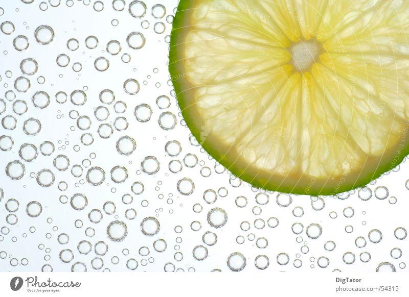 Blubber-Limone frisch kalt Coolness Erfrischung Blubbern