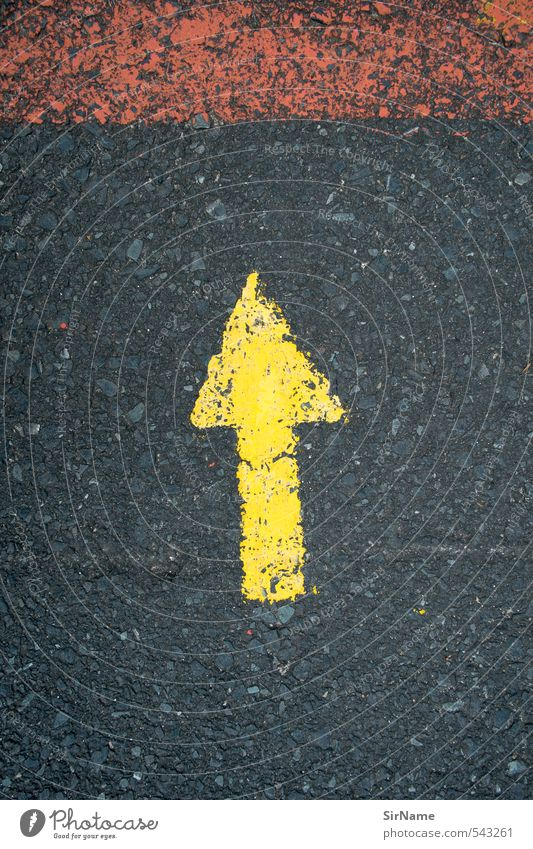 246 [up] Baustelle Güterverkehr & Logistik Verkehr Verkehrswege Straße Verkehrszeichen Verkehrsschild Zeichen Schriftzeichen Schilder & Markierungen Linie Pfeil