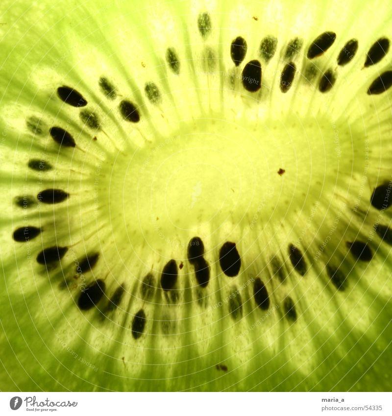Kiwi grün schwarz Lampe Gesundheit Frucht lecker Vitamin Schalen & Schüsseln Kerne saftig fruchtig