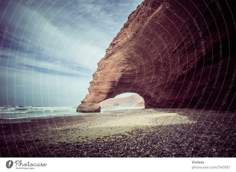 Stonewash Natur Ferien & Urlaub & Reisen schön Meer Erholung Landschaft Strand Ferne Umwelt Küste Felsen Kraft Tourismus Urelemente Abenteuer fantastisch