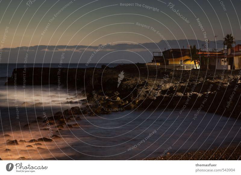 best places Himmel Ferien & Urlaub & Reisen Sommer Wasser Meer Haus Ferne Strand dunkel Küste Horizont Luft Erde Idylle Wellen Wind