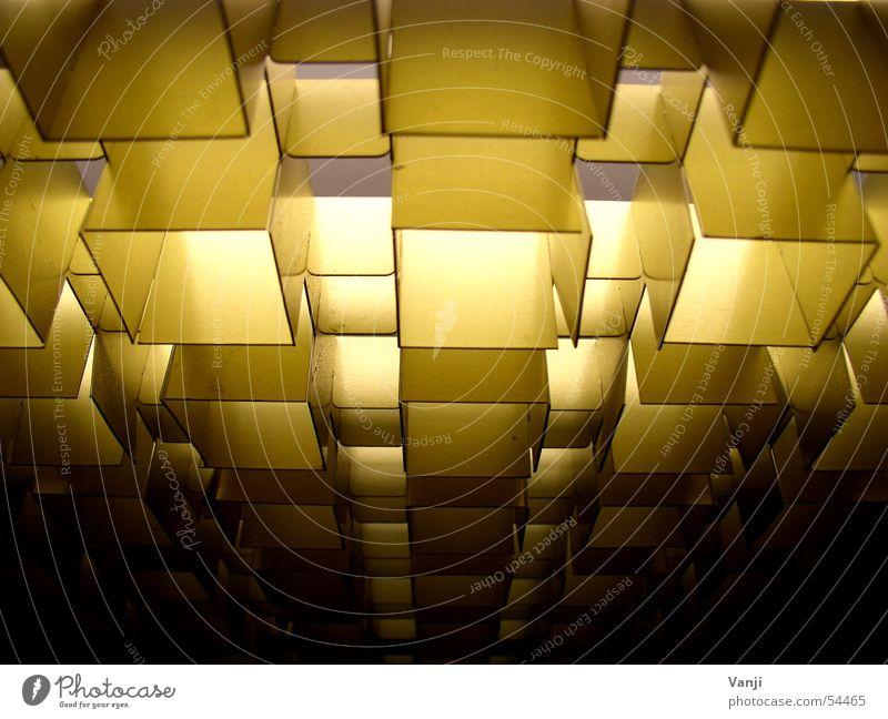 Strahlen II Decke Fahrstuhl Licht Beleuchtung Muster retro Maske Strukturen & Formen