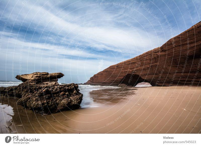 Erstes 2014 | Chill-Out Natur Ferien & Urlaub & Reisen Sommer Sonne Meer Erholung Landschaft Strand Ferne Umwelt Küste außergewöhnlich Felsen Kraft Wellen