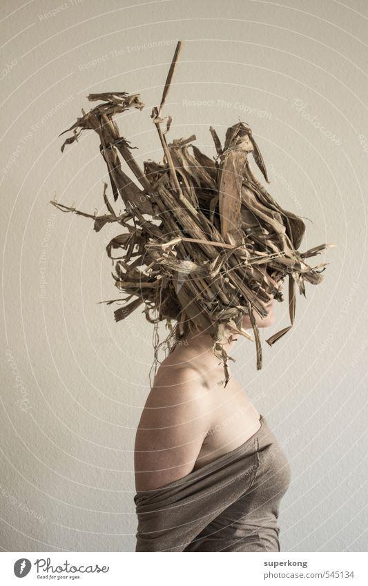 Oats Lifestyle elegant Stil Design exotisch schön Körper Schminke Basteln Junge Frau Jugendliche Haut Kopf Haare & Frisuren Brust Frauenbrust Kunst Künstler