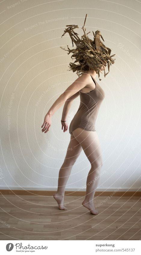 Karma Police feminin Junge Frau Jugendliche Erwachsene Körper Haut Kopf Haare & Frisuren Frauenbrust Arme Hand Finger Gesäß Beine Fuß Kunst Künstler Tänzer