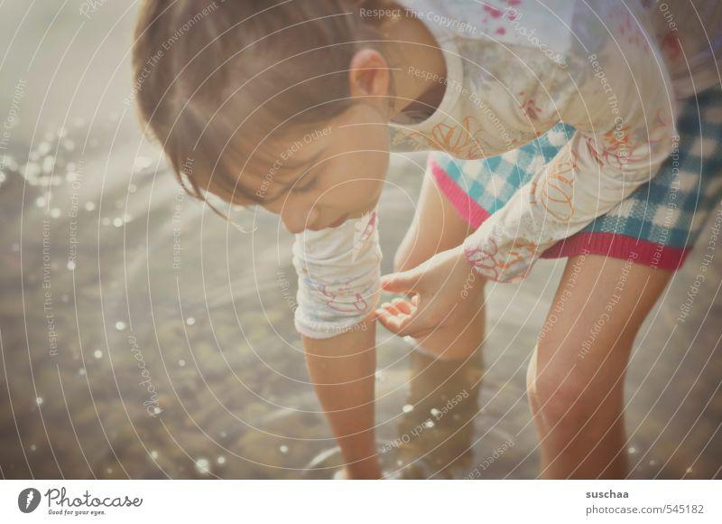 vor ein paar wochen noch ... II Mensch Kind Natur Wasser Sommer Hand Mädchen Gesicht Umwelt Auge feminin Herbst Haare & Frisuren Gesundheit natürlich Kopf