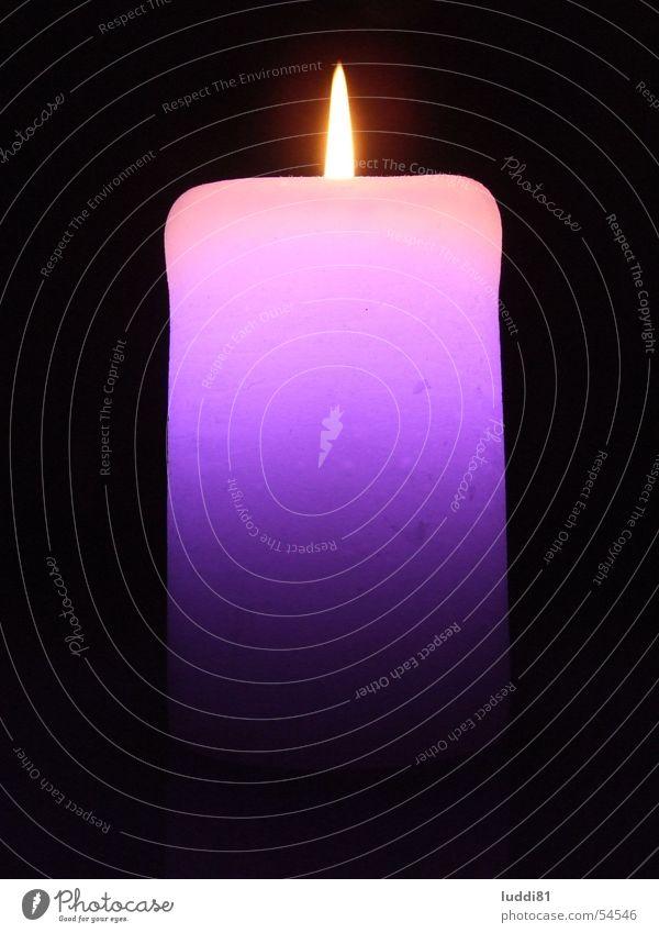 Loungelight Kerze Licht Wachs Brand candle Foyer Leuchtdiode Lampe
