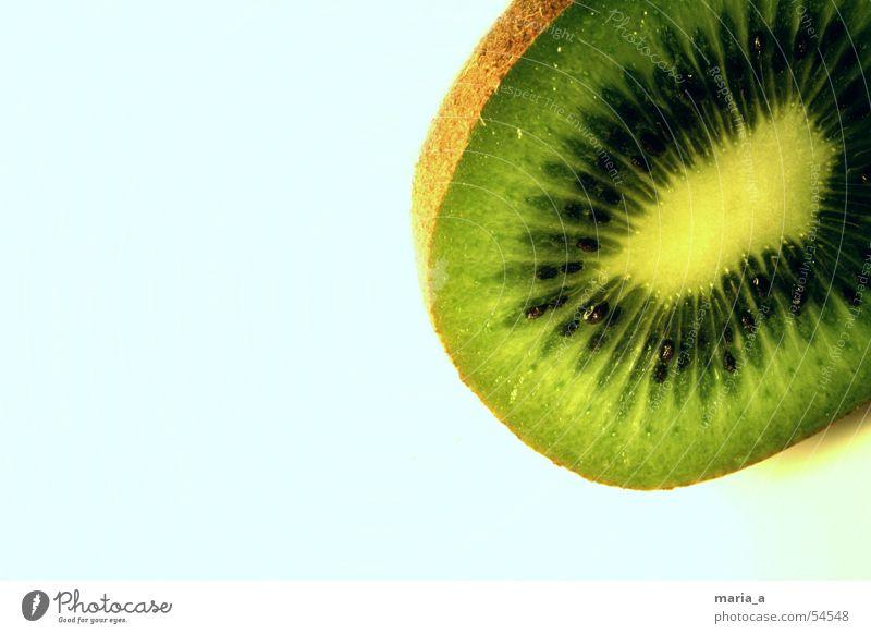 Kiwi grün schwarz Gesundheit Frucht lecker Kerne Vitamin saftig Schalen & Schüsseln Anschnitt Saft fruchtig Vitamin C