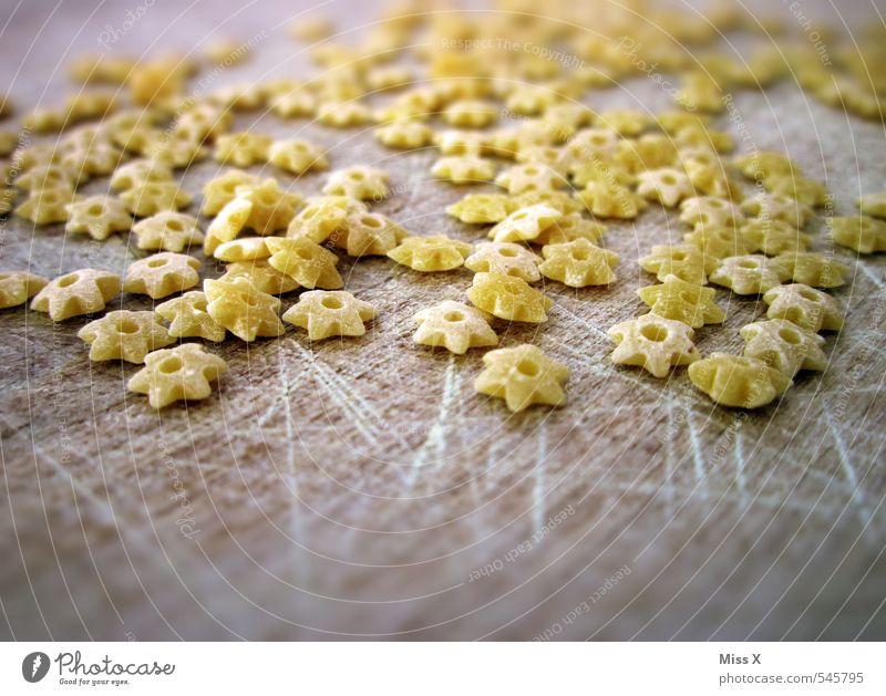 Sternchen Lebensmittel Teigwaren Backwaren Suppe Eintopf Ernährung Mittagessen Italienische Küche klein lecker Nudeln Nudelsuppe Nudelgerichte Stern (Symbol)