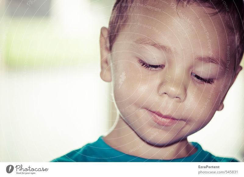 Träumer Mensch maskulin Kind Junge Kindheit Leben Kopf Auge Ohr Nase Mund 1 1-3 Jahre Kleinkind 3-8 Jahre träumen ästhetisch schön lachen Konzentration Aktion