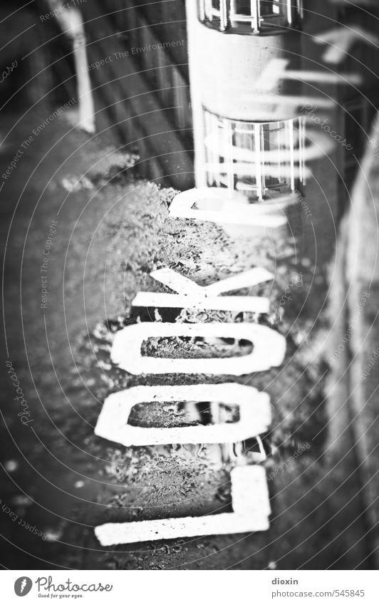 look right (wet version) Ferien & Urlaub & Reisen Stadt Wasser Straße Wege & Pfade Regen Verkehr Schilder & Markierungen Tourismus Schriftzeichen Hinweisschild Zeichen Asphalt Bürgersteig Verkehrswege Stadtzentrum