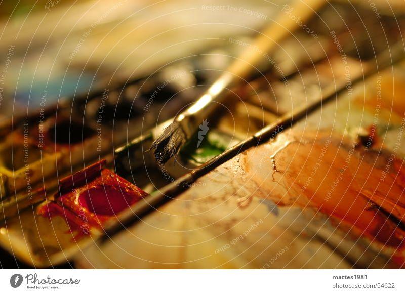 Aquarell alt Sommer Freude Winter Farbe Herbst springen Metall Kunst nass frei frisch Trauer weich Freizeit & Hobby Bild