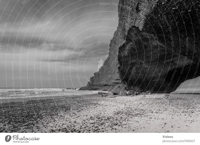 ....for eternity Natur Ferien & Urlaub & Reisen Wasser Sonne Meer Landschaft Strand Ferne Umwelt Küste Sand außergewöhnlich Felsen Kraft Wellen Erde