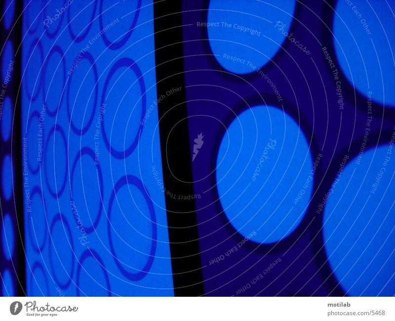 blue circles Kreis Stimmung Fototechnik blau
