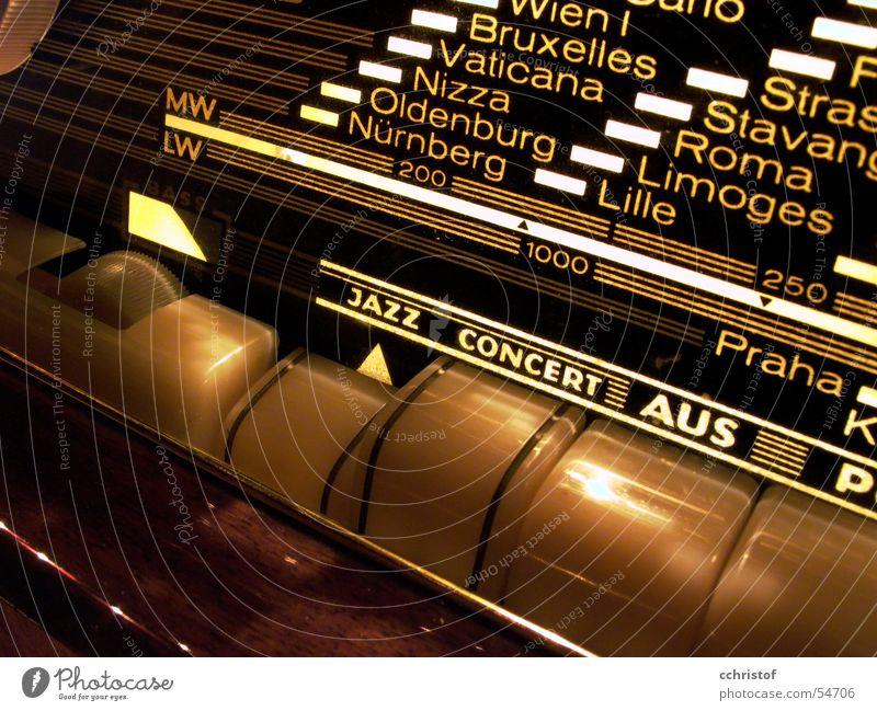 Jazzconzert aus retro Radio Sechziger Jahre Nizza Fünfziger Jahre Bayern Cote d'Azur Plattenspieler Brüssel Nürnberg Oldenburg