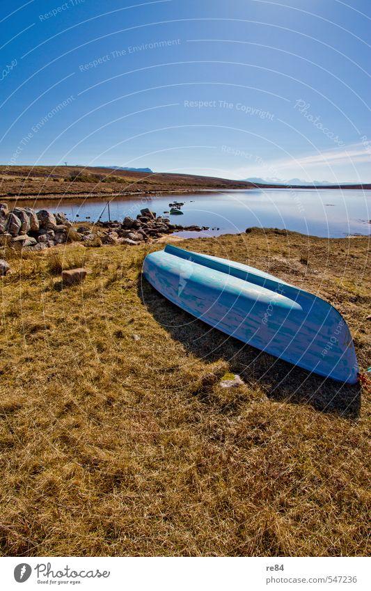 Schottischer Sommer Natur Ferien & Urlaub & Reisen blau Wasser Sommer Sonne Landschaft Ferne Umwelt Herbst Frühling Freiheit See Tourismus Insel Ausflug