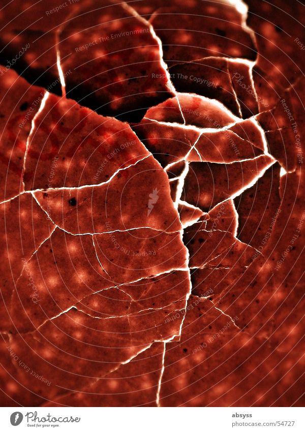 openSource - offene Quelle rot kaputt Punkt Ei gebrochen Riss Schalen & Schüsseln Splitter gepunktet gesplittert Split Eierschale Bruchstelle Sollbruchstelle