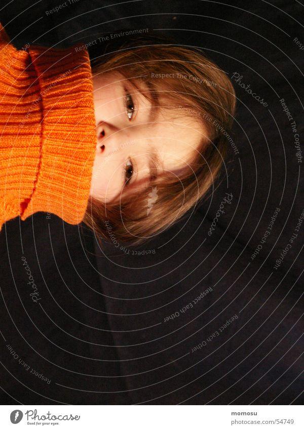 Ansichtssache Kind Mädchen Auge Haare & Frisuren Kopf Pullover