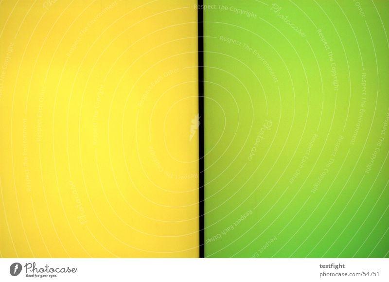 leuchtwand grün gelb Farbe Wand Mauer Farbwand Leuchtwand