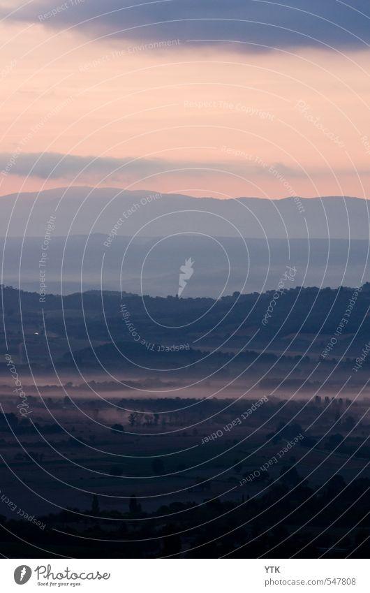 Misty Morning Himmel Natur Sonne Einsamkeit Landschaft Wolken Ferne Wald dunkel Umwelt Wiese Traurigkeit Herbst Freiheit Felsen Stimmung