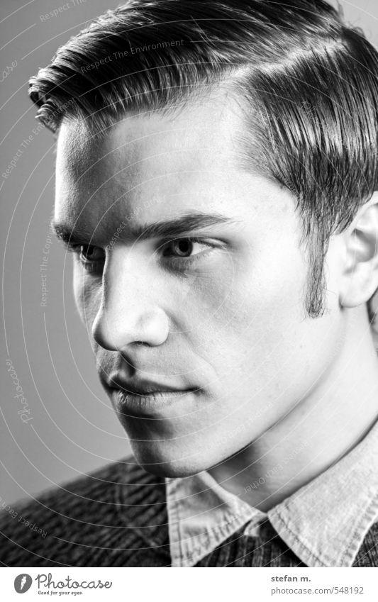 Fabian #1. schön Haare & Frisuren Gesicht maskulin Junger Mann Jugendliche Erwachsene Mensch 18-30 Jahre Mode Bekleidung selbstbewußt Coolness Erotik