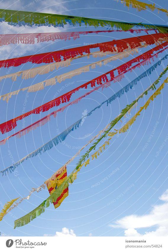 Festes de Gràcia Himmel schön Ferien & Urlaub & Reisen Freude Glück Religion & Glaube hell Feste & Feiern Fröhlichkeit Dekoration & Verzierung Kitsch Spanien