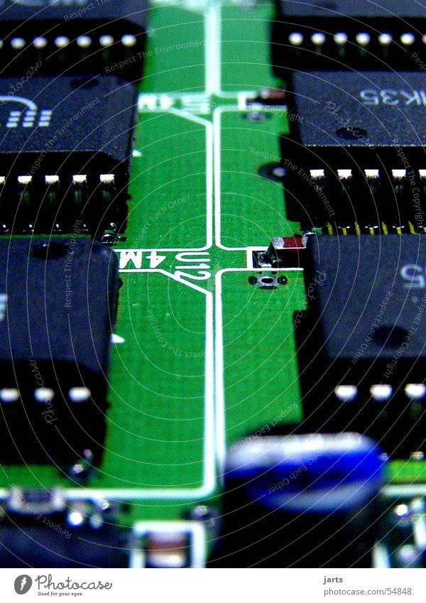 Industriegebiet Platine Stadt Elektrisches Gerät Wissenschaften Technik & Technologie Informationstechnologie Dachboden Computer Straße Elektronik jarts