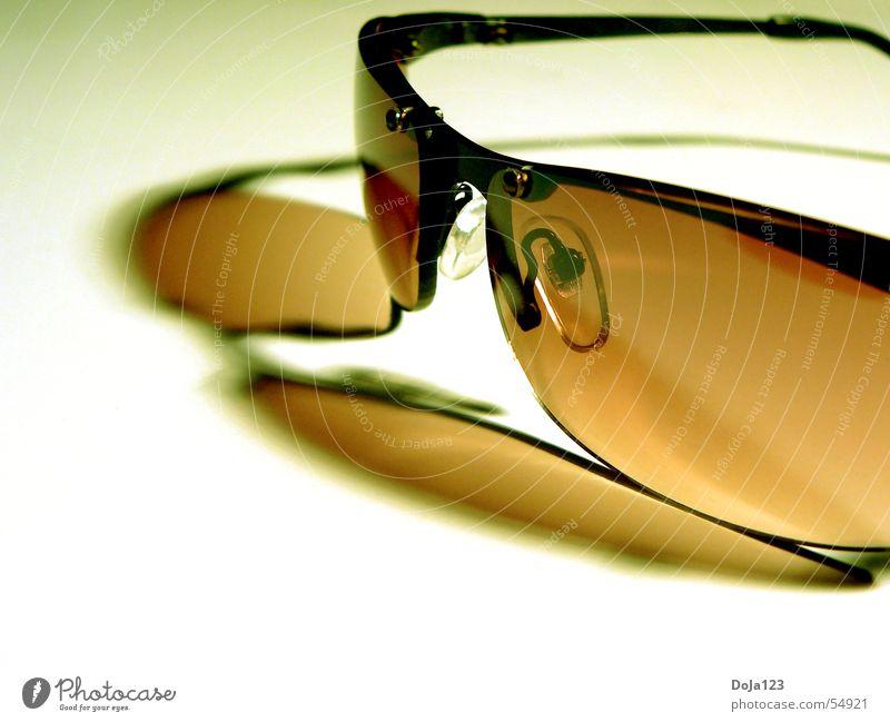 The need of a day for sunglasses braun Design Brille Spiegel Stillleben Sonnenbrille Kleiderbügel teuer rotbraun bräunlich getüncht Vor hellem Hintergrund