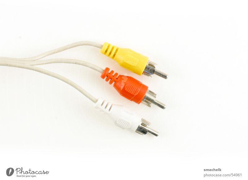 Cinchkabel Kabel Verbindung Stecker Kabelsalat Cinchkabel