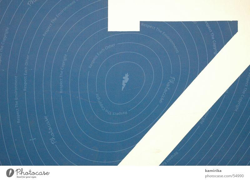 7 blau Farbe Wand Mauer Raum Grafik u. Illustration graphisch