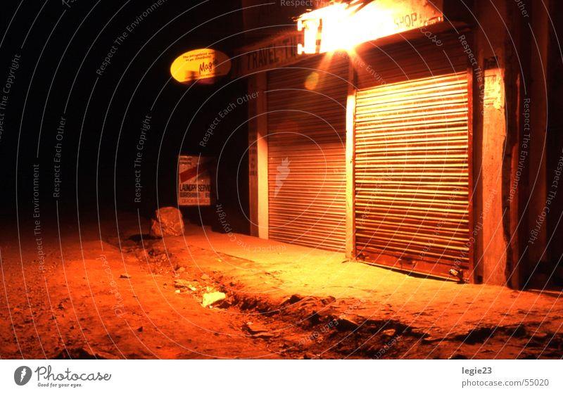 India bei Nacht Indien