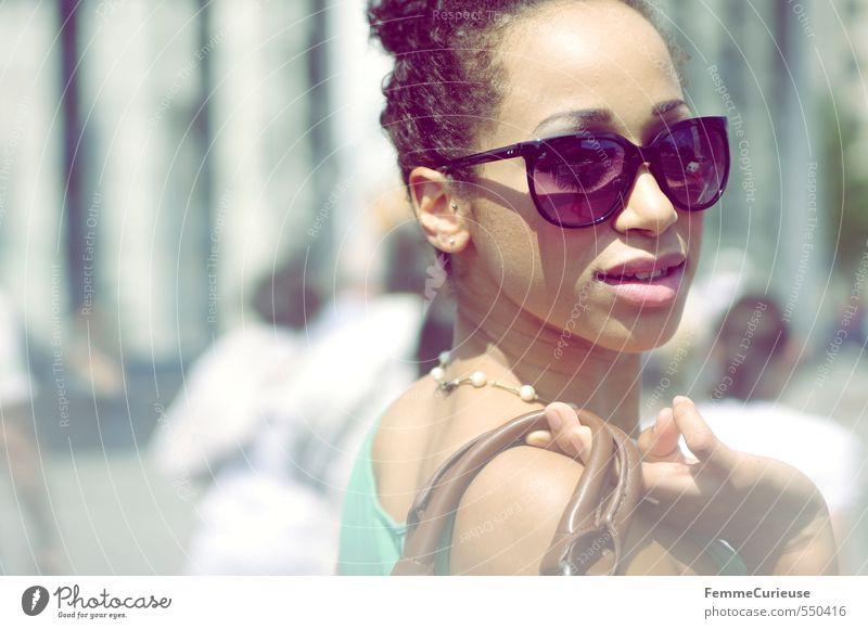 Sommererinnerungen ... (III) Mensch Frau Jugendliche Stadt schön Erholung Junge Frau 18-30 Jahre Erwachsene feminin Stil Mode Freizeit & Hobby elegant Lifestyle