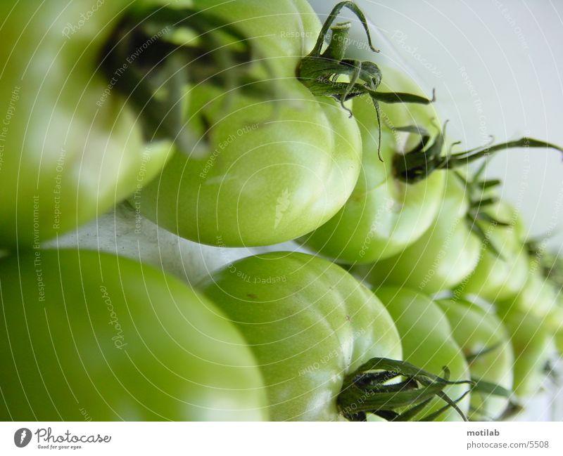 grüne Tomaten grün Ernährung Gemüse Tomate unreif
