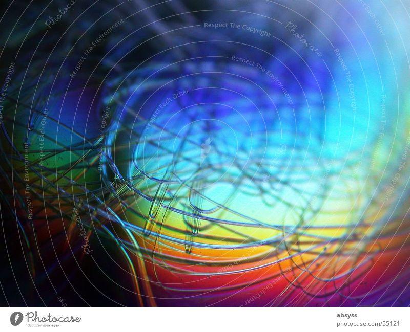 Rainbow Scratches Farbe Regenbogen Digitalfotografie Compact Disc Kratzer