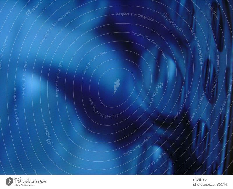 BlueCircles °2 Fototechnik blau Kreis blue circles Farbe