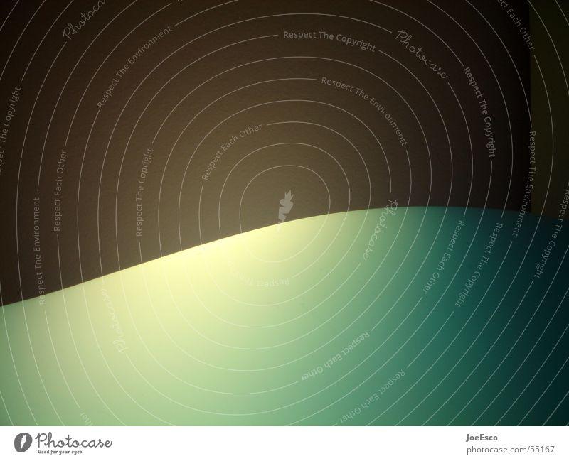 es geht aufwärts Lampe Stil Stimmung Raum Wellen Coolness rund Grenze Dynamik Teilung Kurve positiv Verlauf Rampe