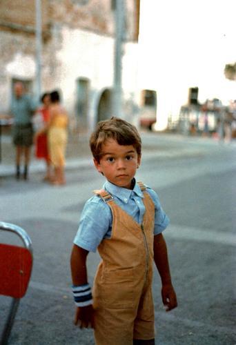it's me... 20 years ago Kind retro Platz Italien altehrwürdig