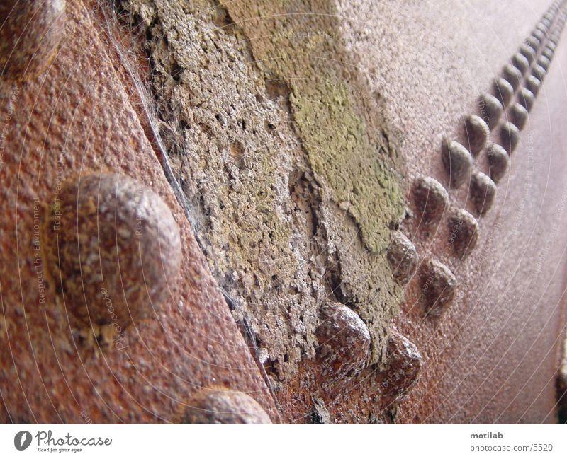 corroded alt Vergänglichkeit Verfall Rost Fototechnik