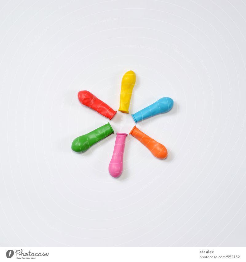 in bunt blau grün rot gelb Feste & Feiern Party rosa orange Dekoration & Verzierung Kreativität Luftballon Team Karneval Handel Teamwork wählen