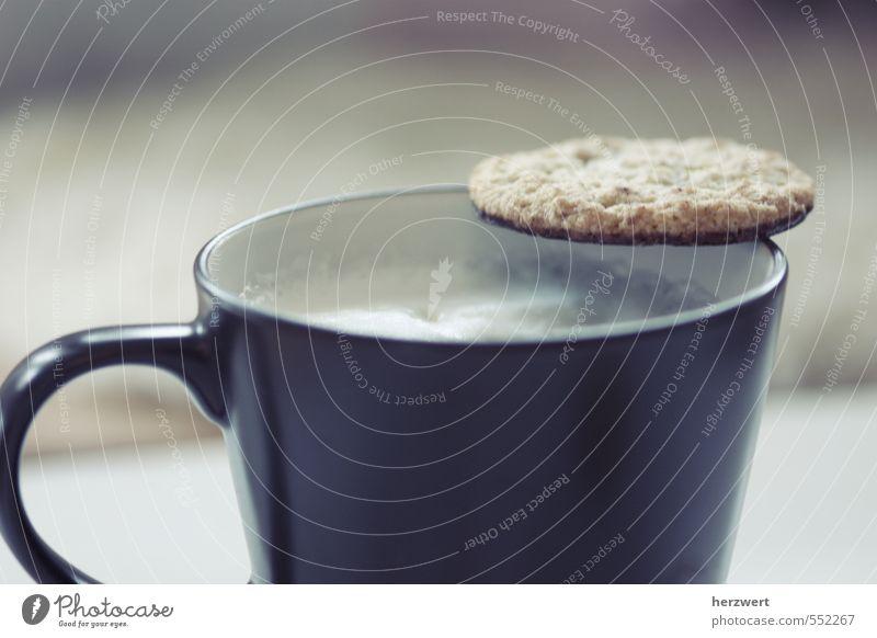 Kaffee&Keks Teigwaren Backwaren Süßwaren Essen Getränk trinken Tasse genießen Kaffeetrinken Farbfoto