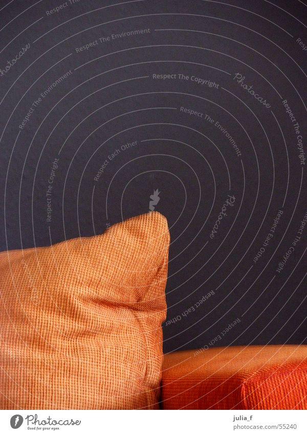 orange sofaecke braun Ecke Sofa Innenarchitektur Möbel Polster