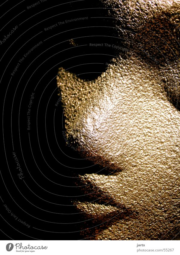 Androide Gesicht Auge Kopf Mund Haut Nase Puppe Styropor