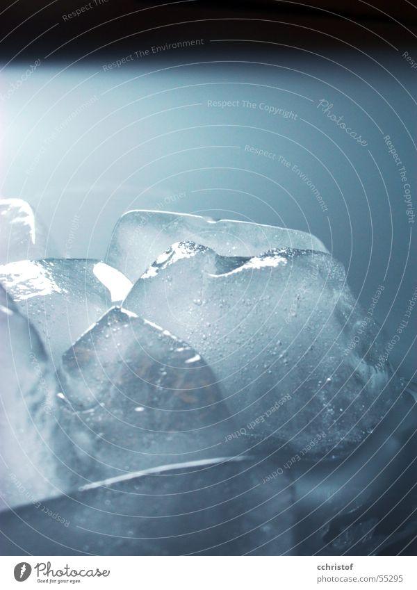 iceberg kalt Eis gefroren frieren schmelzen Eiswürfel