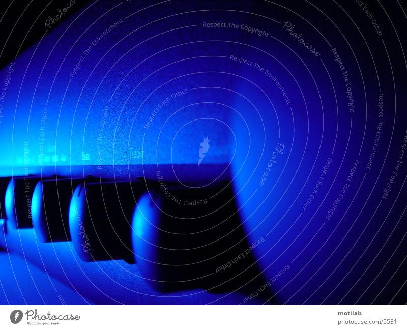 blue amp Verstärker Fototechnik blau amplifier