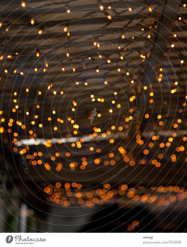 Lichter Dekoration & Verzierung Kitsch Krimskrams Lichterkette Beleuchtung Weihnachtsbeleuchtung dunkel Weihnachtsdekoration Weihnachten & Advent Farbfoto