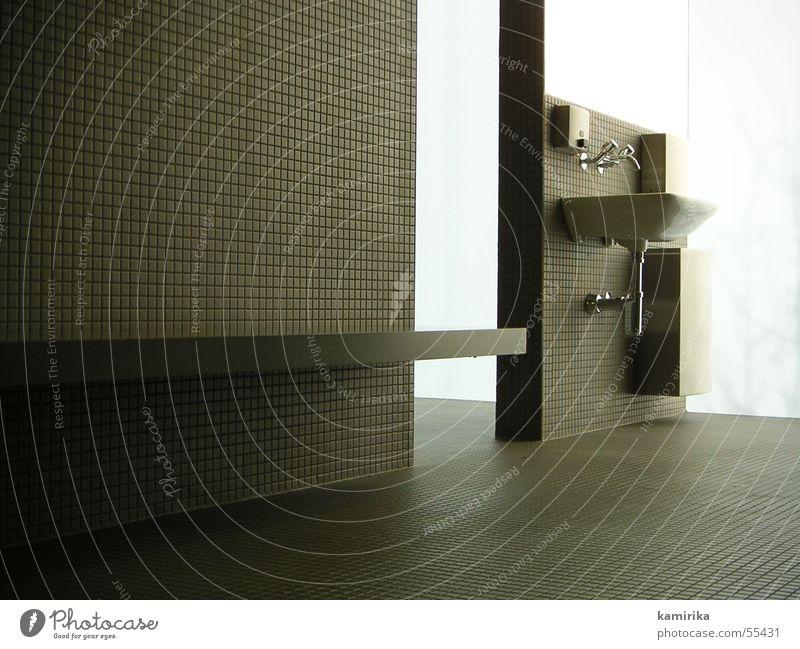 take a shower Wasser Bad Reinigen fließen Wasserhahn Waschbecken Geschirrspülen Mosaik
